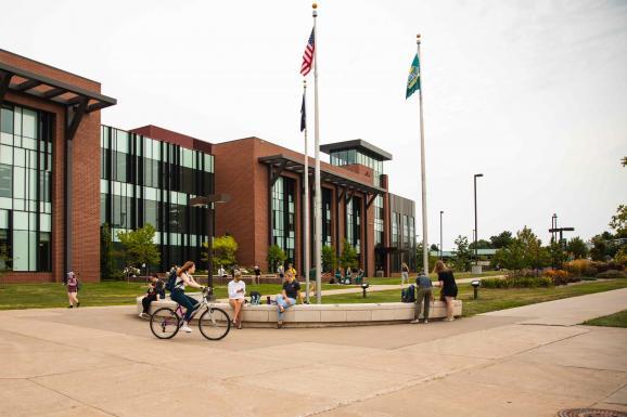 NMU campus stock photo