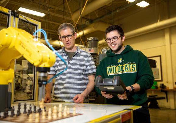NMU robotics program photo