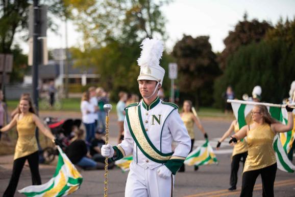 Past Homecoming Parade