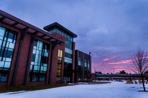 NMU winter stock photo