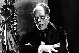 Chaney as the Phantom