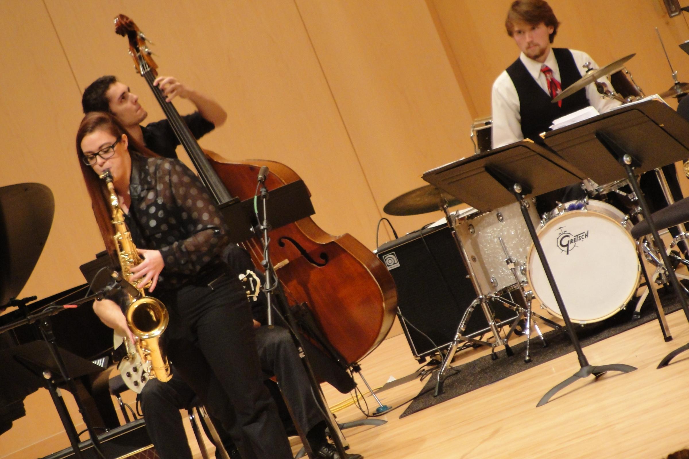 Jazz band stock photo