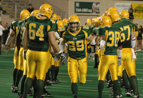 NMU Football team