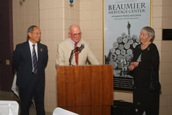 Beaumier Center Dedication