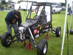 NMU Wildcat Racing Team Competes in an SAE Baja Race