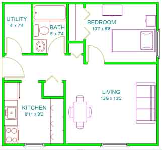 Lincoln Apartment Floor Plans