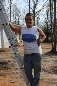 Michelle Schmitz rebuilding houses in Louisiana