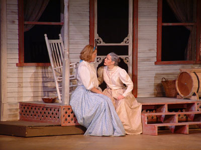 "NMU students performing in play, ""Oklahoma!"""