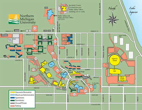 U Michigan Campus Map.Visit Nmu Nmu Human Resources