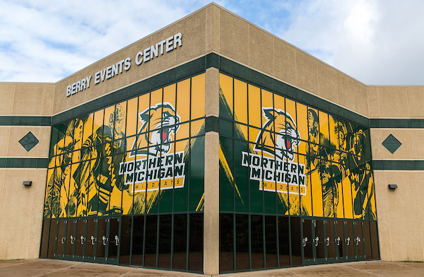 Made In Michigan >> Berry Events Center | Northern Michigan University