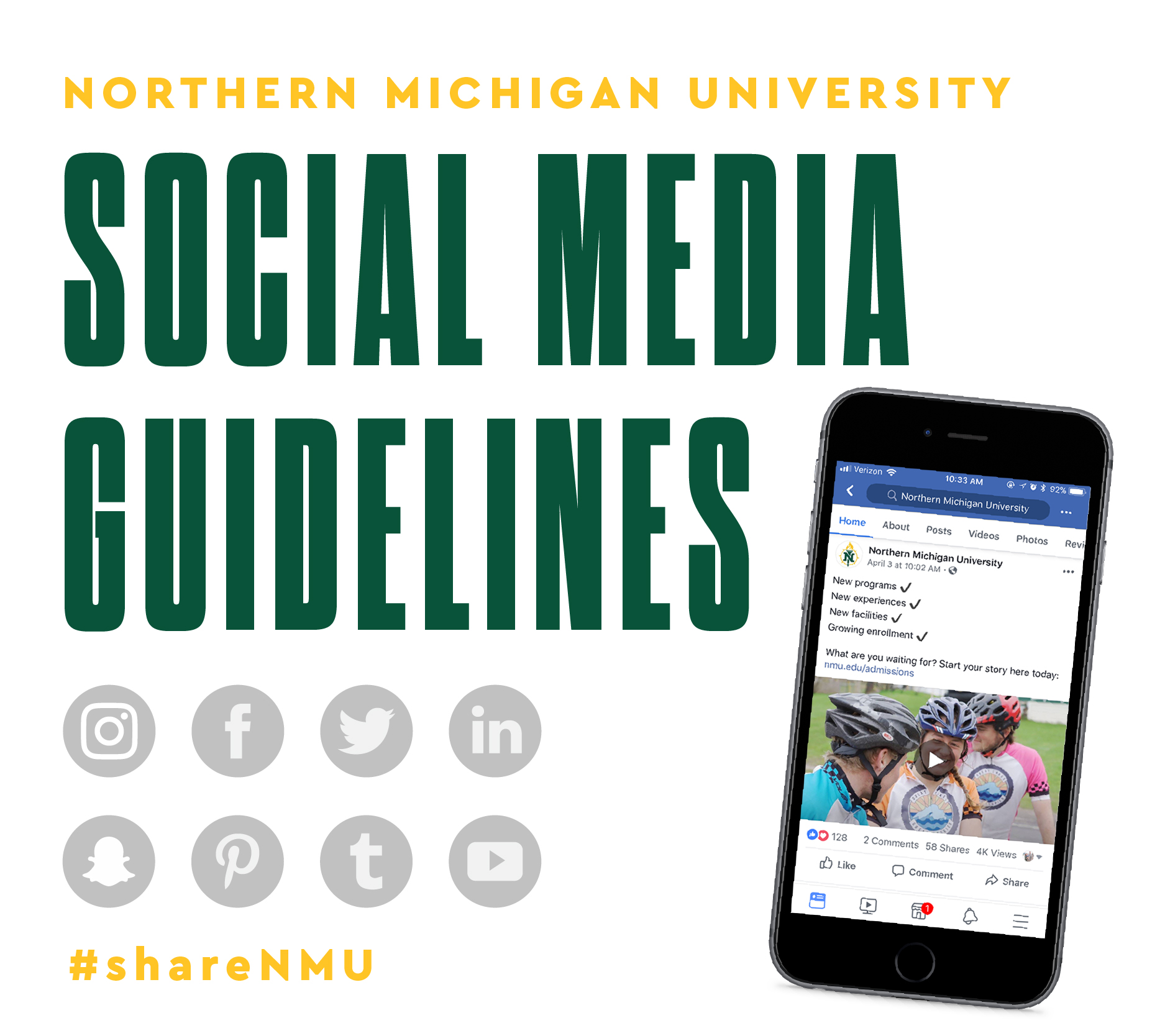 Northern Michigan University Social Media Guidelines