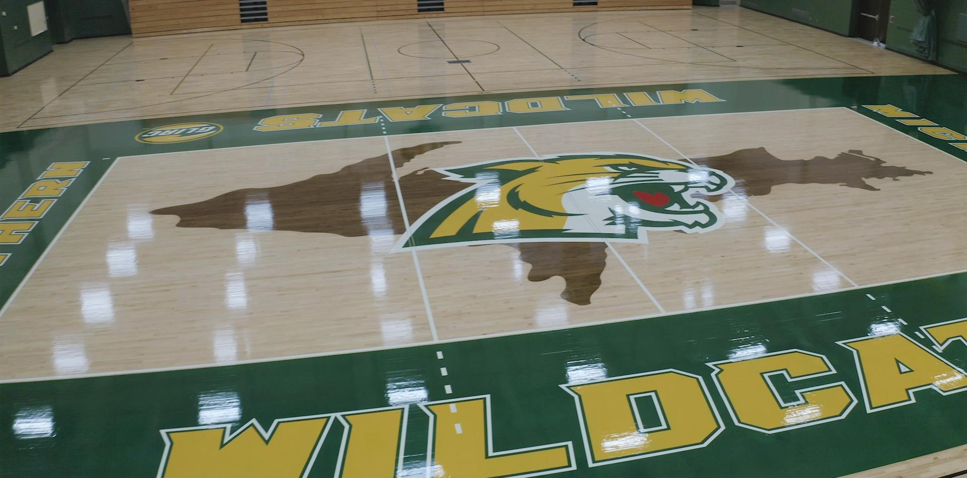 Newly painted Vandament Floor