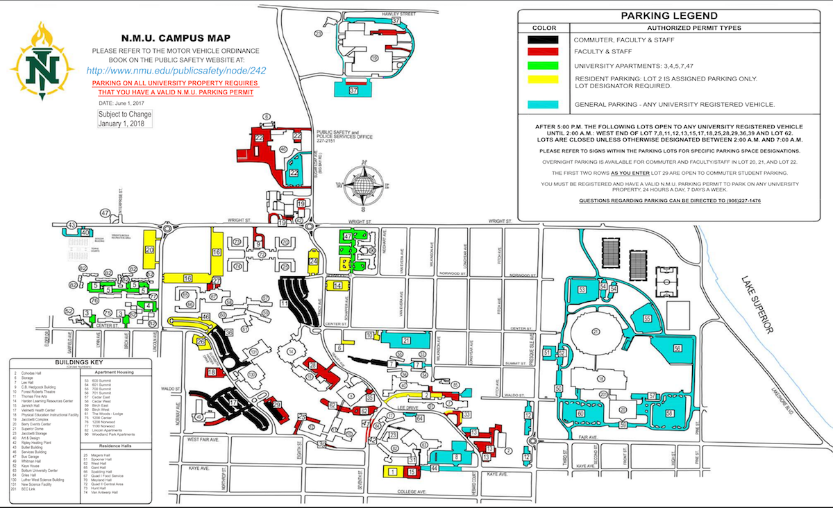 Campus Map | Northern Michigan University