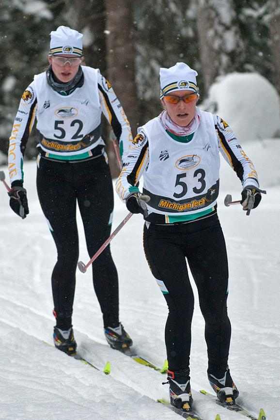 Skiers Host CCSA Championship