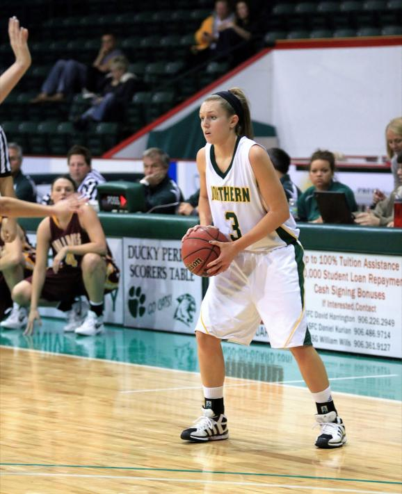 Freshman guard Alyssa Colla