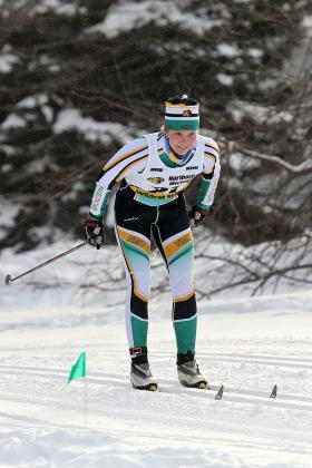 Freshman Malin Eriksson.