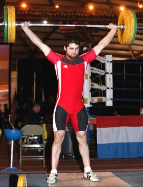 Kyle Cook at the 2005 Olympic Challenge