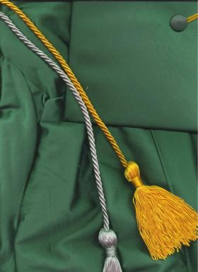 NMU cap and gown