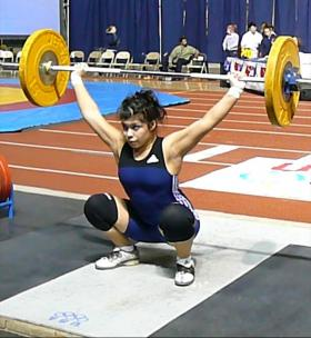 Argueta at the 2007 Olympic Challenge