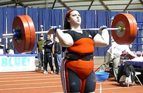 USOEC weightlifter Rachel Hearn