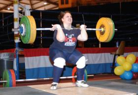 Weightlifter Rachel Hearn
