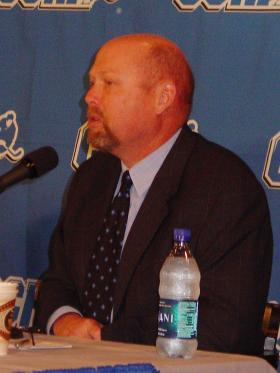 Walt Kyle at CCHA Media Day