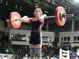 USOEC weightlifter Chelsea Kyle