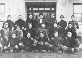 1908 undefeated and state champion Escanaba footba