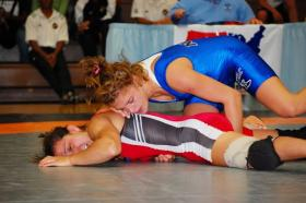 Women's freestyle wrestler Helen Maroulis