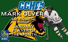 Mark Olver named CCHA Player of the Month