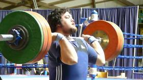 USOEC weightlifter Collin Ito