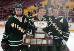 NMU Captains With Canale-Bradshaw Cup