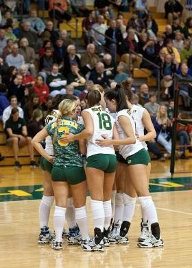 NMU Volleyball