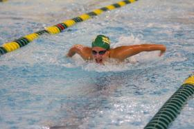 Swimming Hosts UW-Oshkosh