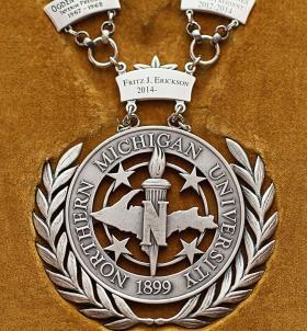 Presidential medallion, or Chain of Office.