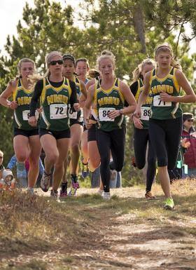A pack of NMU runners.