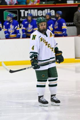 Junior defenseman Scott Macaulay.
