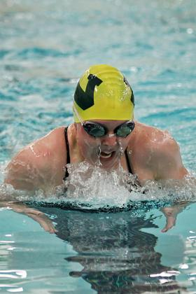 Wildcat swimmers defeated Hillsdale.