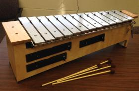 Xylophone that will feature plaque commemorating Lucas