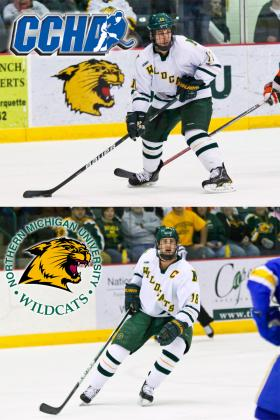 Tyler Gron and Justin Florek Named to CCHA teams.