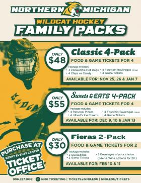 Wildcat Family Packs