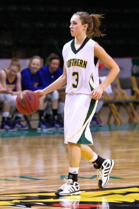 Freshman guard Alyssa Colla.