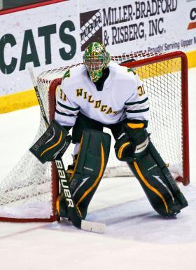 Sophomore goaltender Jared Coreau.