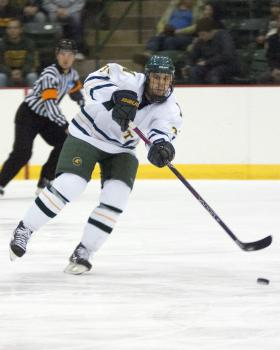 Junior defenseman Kyle Follmer.