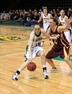 Sophomore center Annie Rubendunst