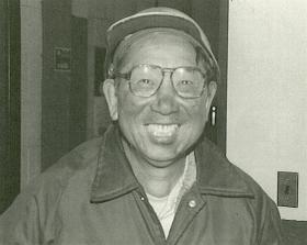 Han after collecting pellet samples at the Tilden Mine