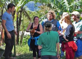 NMU Students in Costa Rica