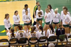 2011 NMU Volleyball Team