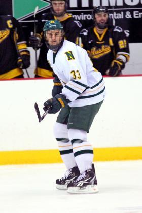 Senior Kyle Follmer.