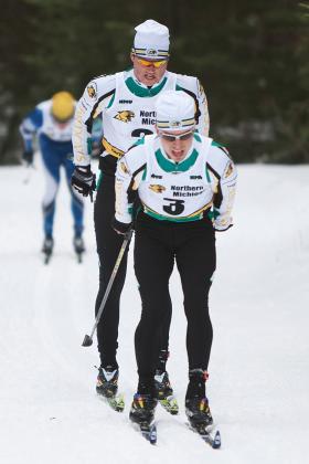 Liebner & Banerud ski at CCSA Championship.